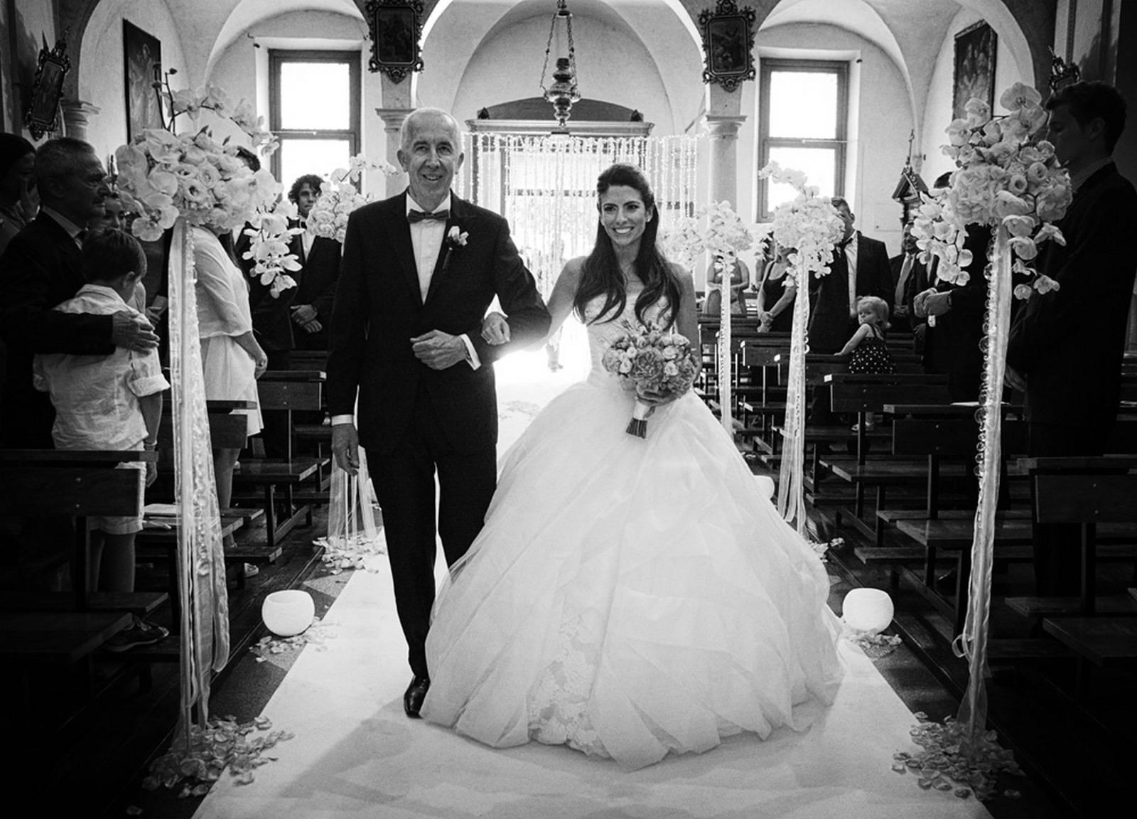 Ingresso della sposa in chiesta