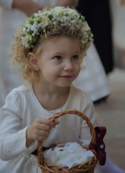 damigella bambina matrimonio