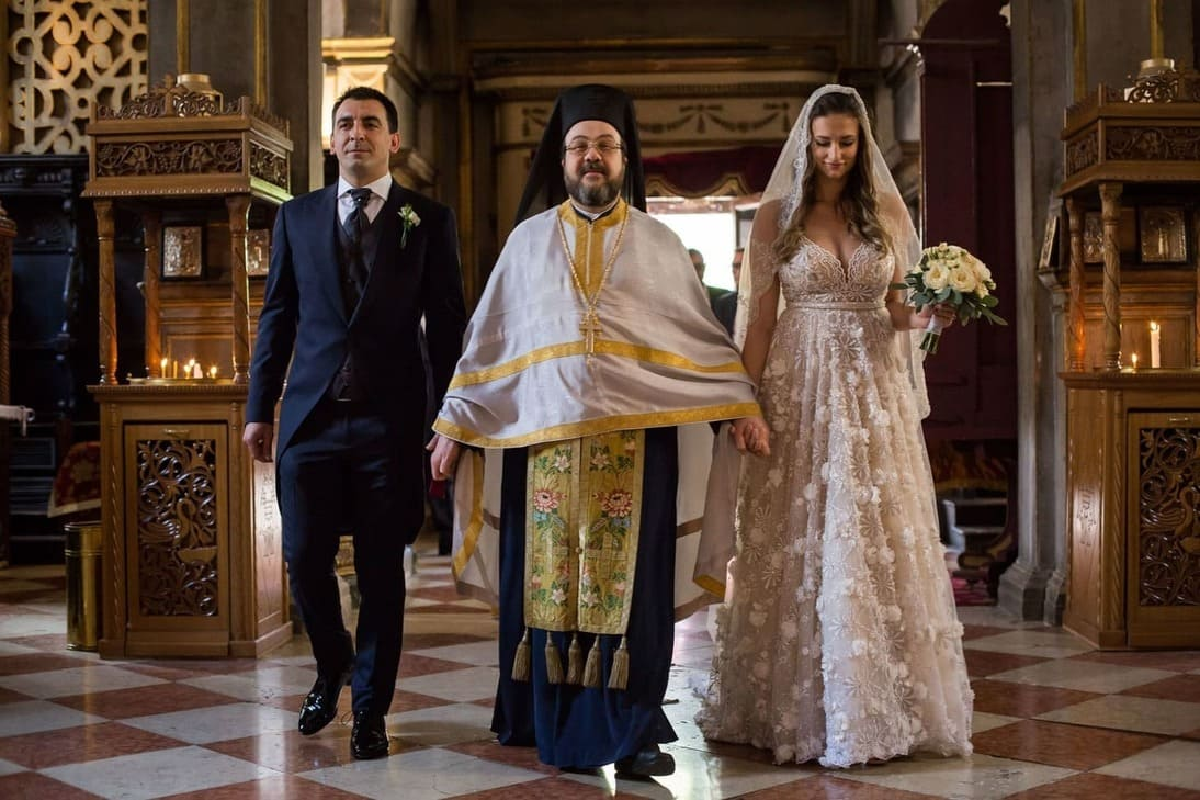 matrimonio a Venezia con cerimonia ortodossa San Giorgio dei Greci