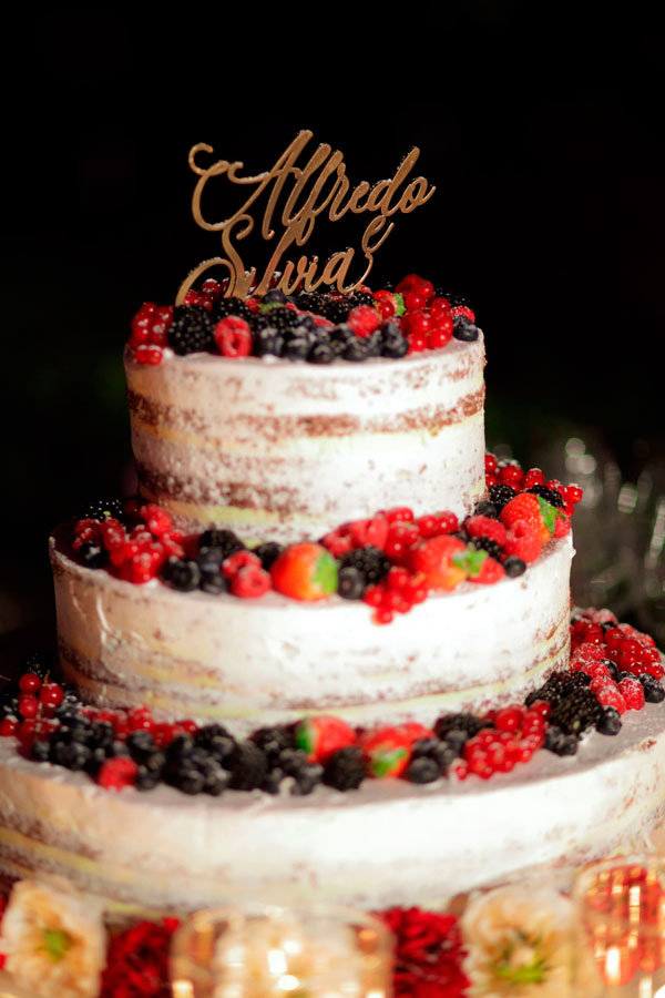 Torte nuziali naked cake - Fotogallery Donnaclick