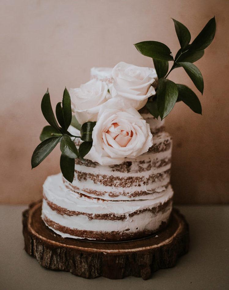 Naked cake caffè e cioccolato | Marianna Pascarella